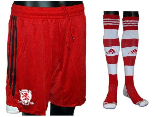 Pantaloncini calzettoni Middlesbrough home 2013-2014
