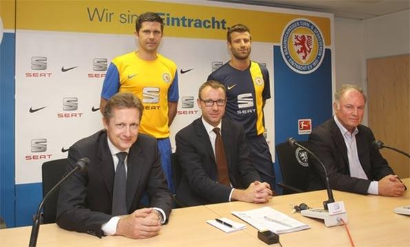 Presentazione kit Eintracht Braunschweig 2013-14