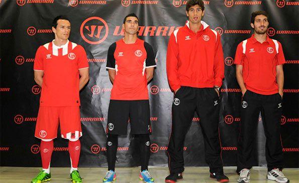 Presentazione kit Sevilla Warrior 2013-14