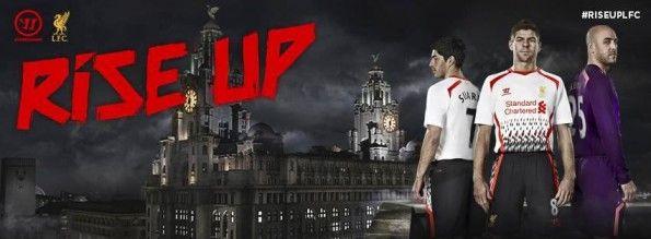 Presentazione seconda divisa Liverpool 2013-2014