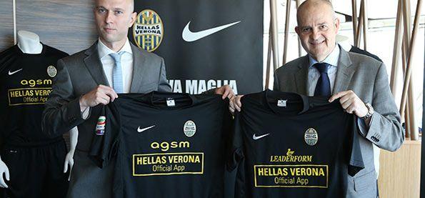 Presentazione terza maglia Hellas Verona 2013-2014