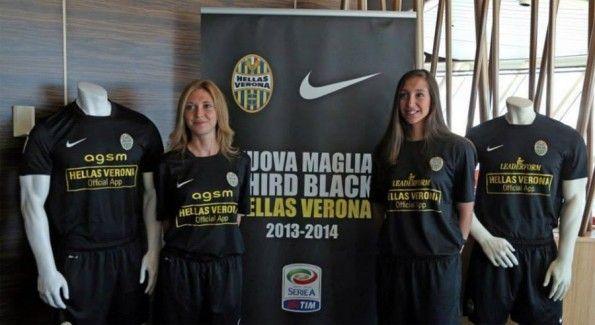Third kit Hellas Verona 2013-2014 presentazione