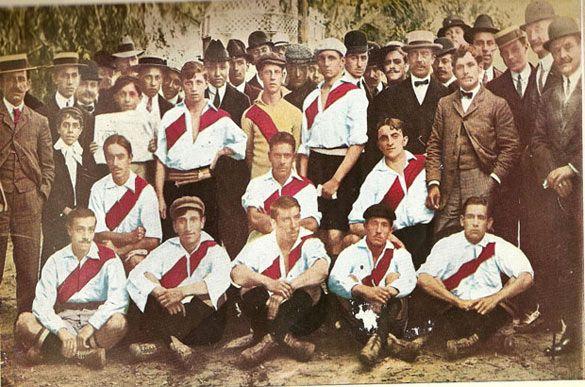 Il River Plate nel 1908