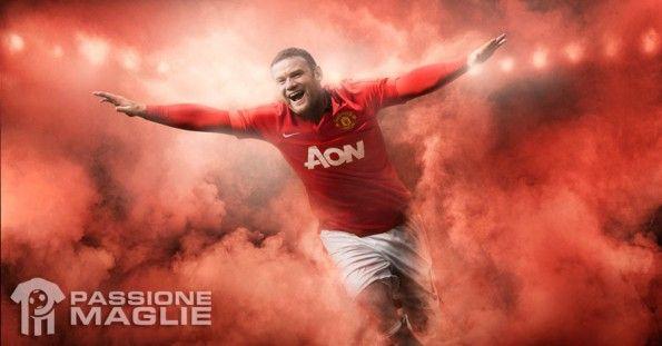 Rooney kit Manchester United Nike