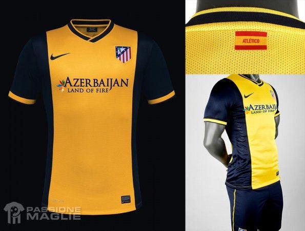 Seconda maglia Atletico Madrid 2013-2014