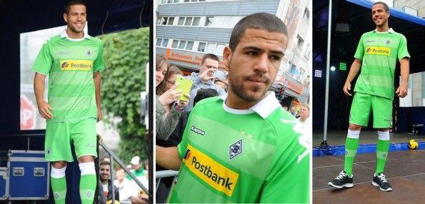 Seconda maglia Borussia Monchengladbach Kappa 2013-14