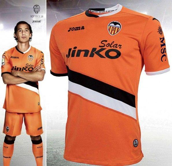 Seconda maglia Valencia 2013-2014