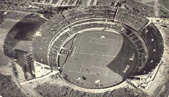 Lo stadio Monumental nel 1938
