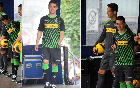 Terza divisa Borussia Monchengladbach Kappa 2013-14