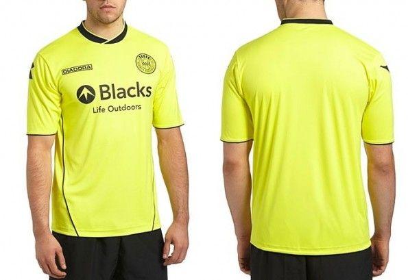 Terza maglia gialla St Mirren 2013-2014