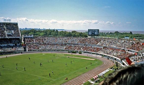 La nuova tribuna Colonia nel 1958
