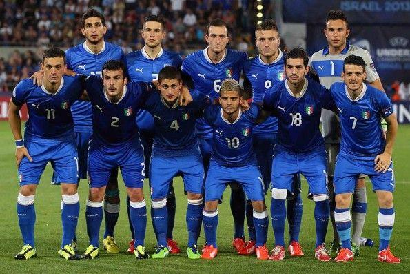 Formazione Italia Under 21 Europei 2013