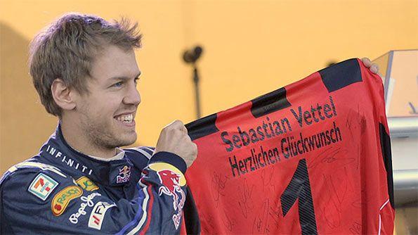 Sebastian Vettel maglia Eintracht Francoforte
