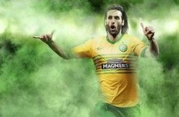 Samaras kit away Celtic 2013-2014
