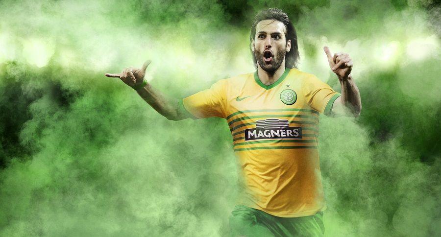 Samaras kit away Celtic 2013-2014