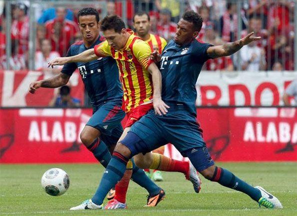 Barcellona-Bayern Monaco trofeo Uli Hoeness
