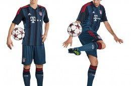 Bayern Monaco kit Champions League 2013-14