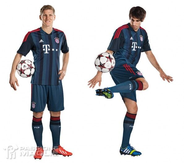Bayern Monaco kit Champions League 2013-14