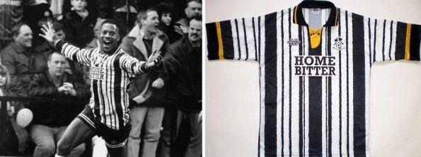 Charlie Palmer maglia Notts County 1993-1994