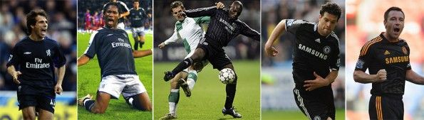 Divise nere Chelsea 2002-2011