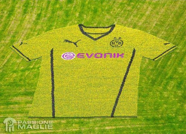 Composizione fiori maglia Borussia Dortmund