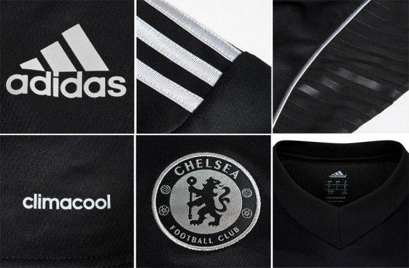 Dettagli terza maglia Chelsea adidas