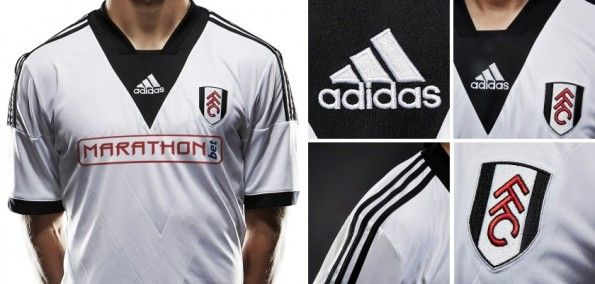 Dettagli maglia Fulham 2013-14