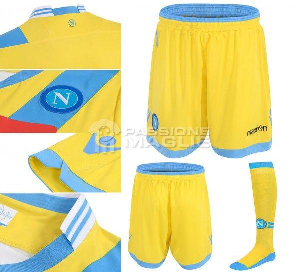 Dettagli third kit Napoli 2013-14