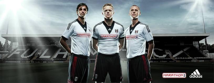 Kit Fulham 2013-2014 adidas