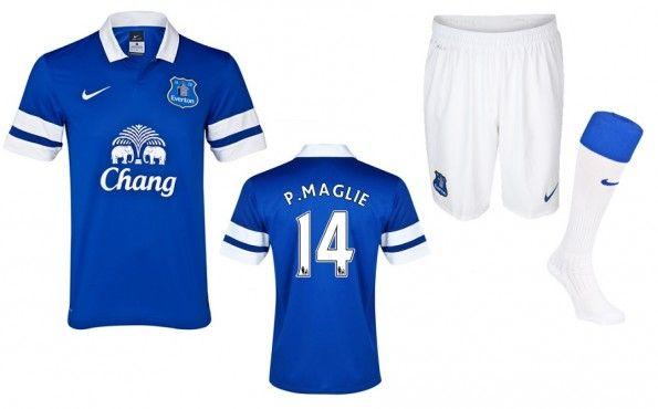 Kit Everton home 2013-2014 Nike