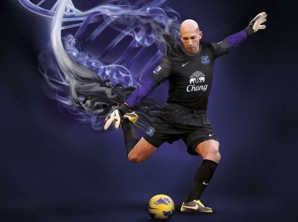 Maglia portiere Everton 2013-2014 Nike