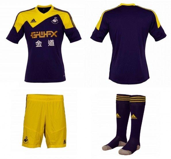 Seconda maglia 2013-2014 Swansea City Adidas