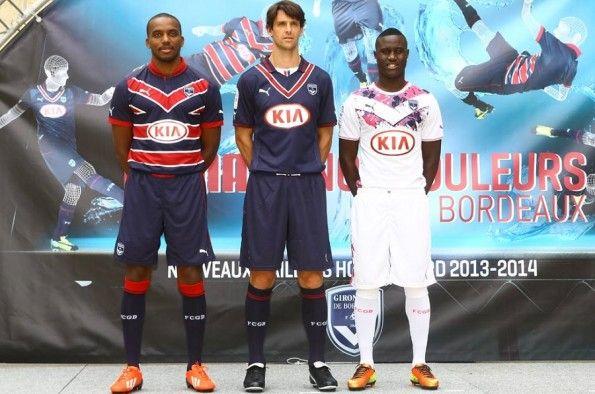 Divise Girondins Bordeaux Puma 2013-2014