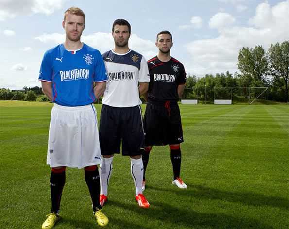 Divise ufficiali Rangers 2013-2014