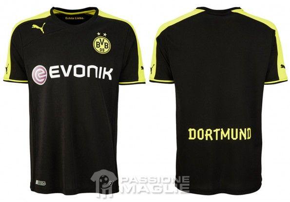 Seconda maglia Borussia Dortmund 2013-2014