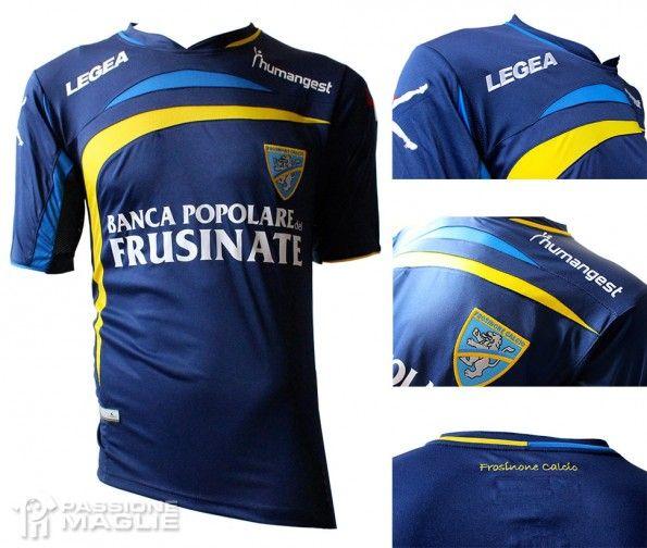 Seconda maglia Frosinone 2013-2014