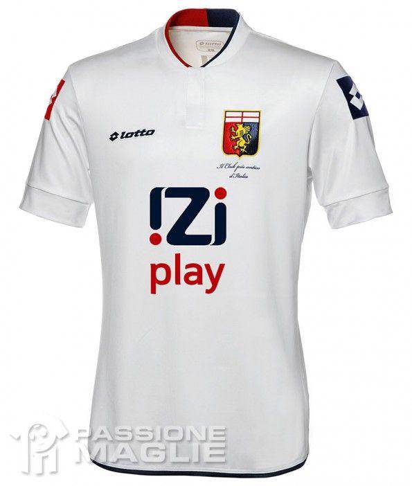 Seconda maglia Genoa 2013-2014 Lotto