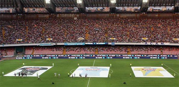 Gigantografie maglie Napoli 2013-14