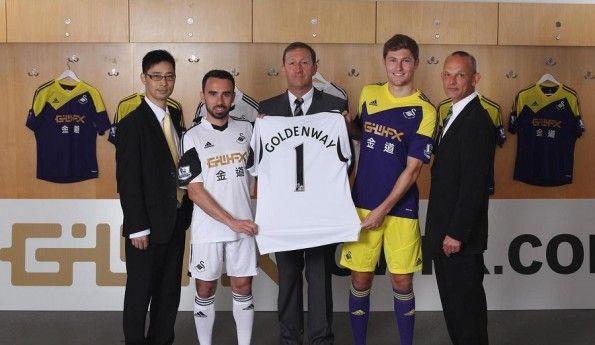 Presentazione nuovo sponsor Goldenway-Swansea