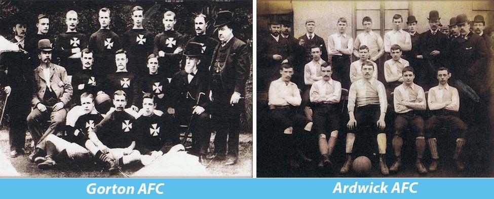 Le vecchie squadre Gorton e Ardwick