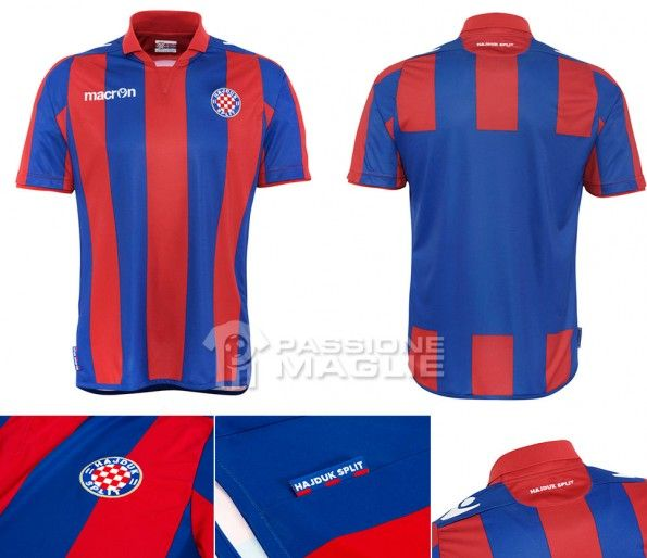 Seconda maglia Hajduk Spalato 2013-2014