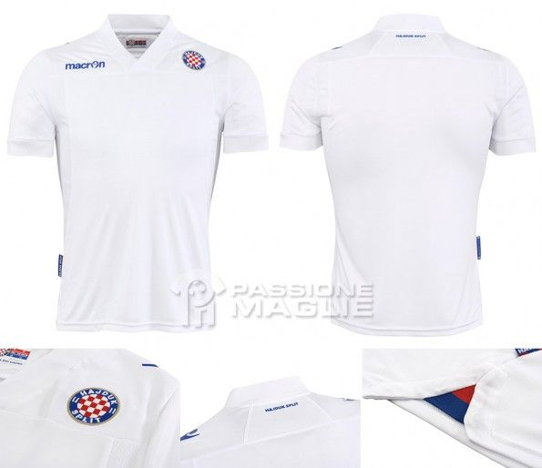 Maglia Hajduk Spalato 2013-2014 Macron