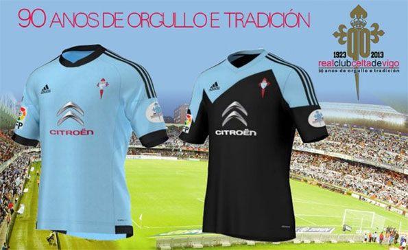 Kit Celta Vigo 90 anni 2013-2014