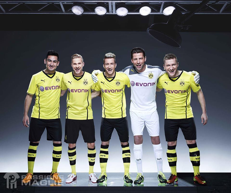Kit Borussia Dortmund 2013-2014 Puma