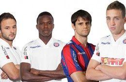 Divise Hajduk Spalato 2013-2014