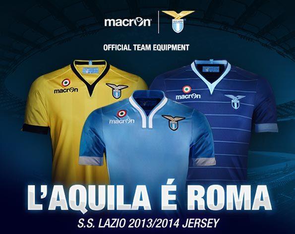 Kit Lazio 2013-2014 Macron