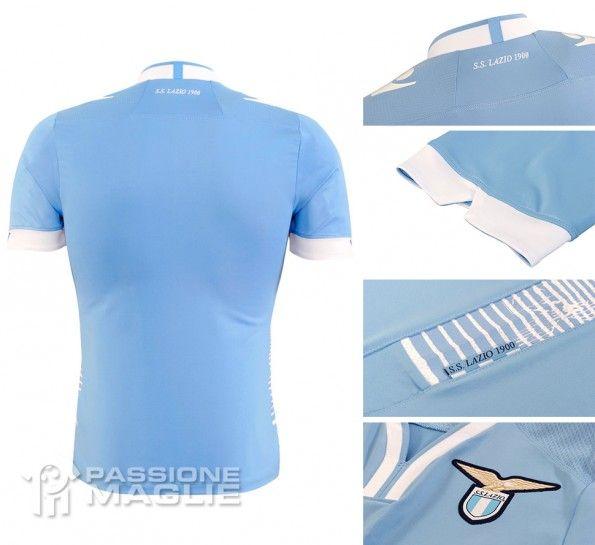 Dettagli maglia Lazio home 2013-2014