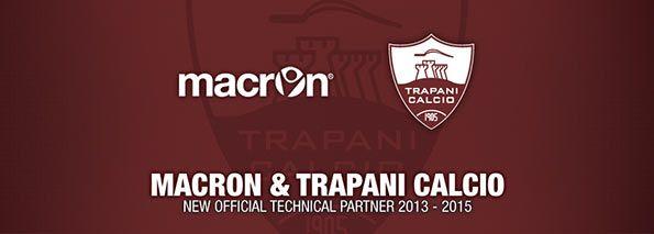 Macron sponsor tecnico Trapani