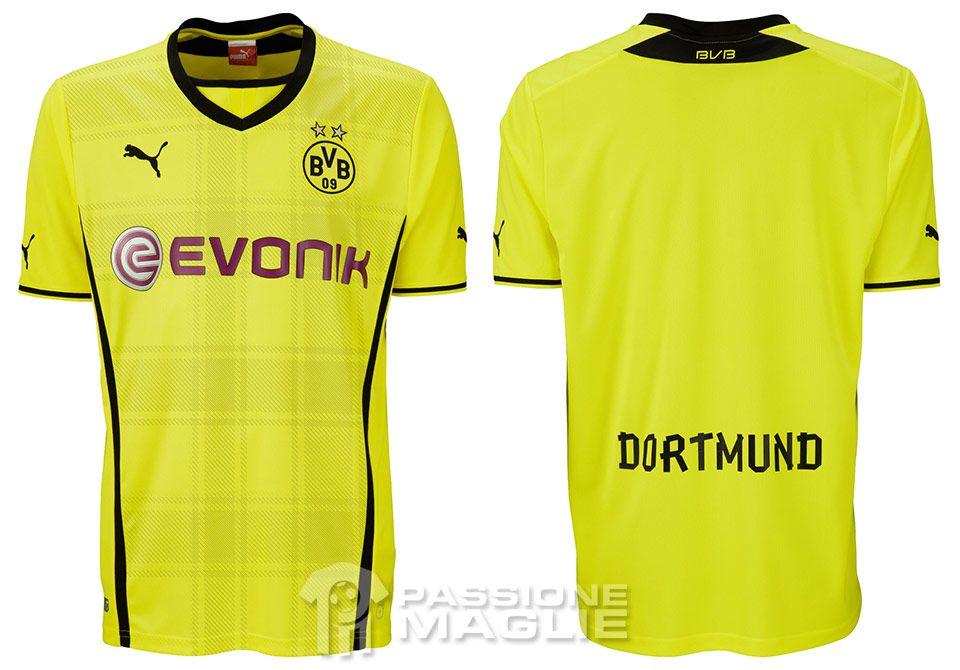 Maglie Borussia Dortmund 2013-2014 Puma spuntano al Westfalen Park