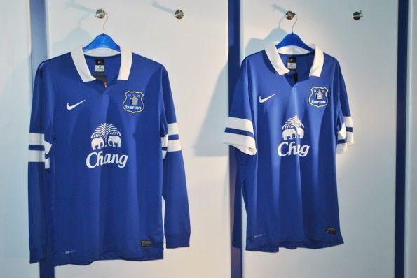 Divisa Everton manica lunga 2013-14